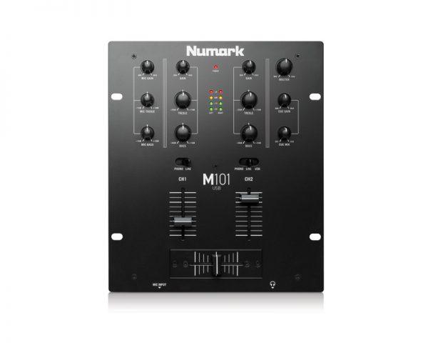 MESAS DE MEZCLAS DJ M101 USB Black