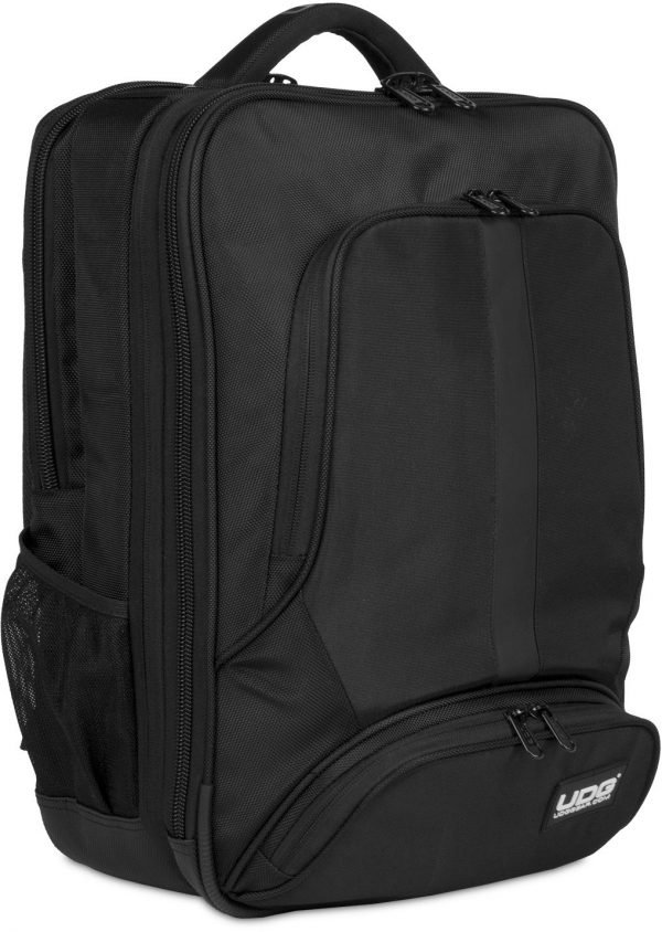 U9108BL/OR - ULTIMATE BACKPACK SLIM BLACK/ORANGE INSIDE