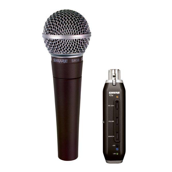 AUDIOIBIZA MICROFONO USB SHURE SM58X2U