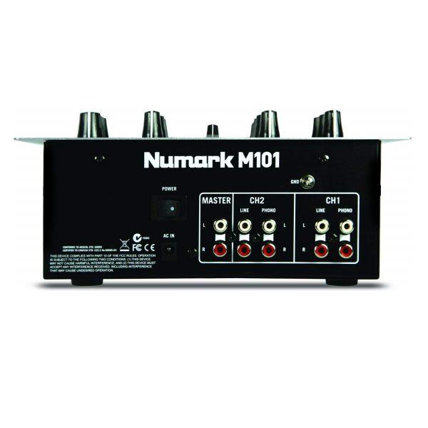 AUDIOIBIZA M101 Black MESAS DE MEZCLAS DJ 1