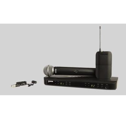 AUDIOIBIZA MICROFONO INALAMBRICO SHURE BLX1288E W85 H8E
