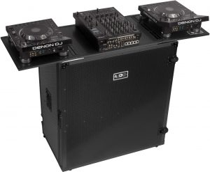 U91049BL - UDG ULTIMATE FOLD OUT DJ TABLE BLACK PLUS (WHEELS)