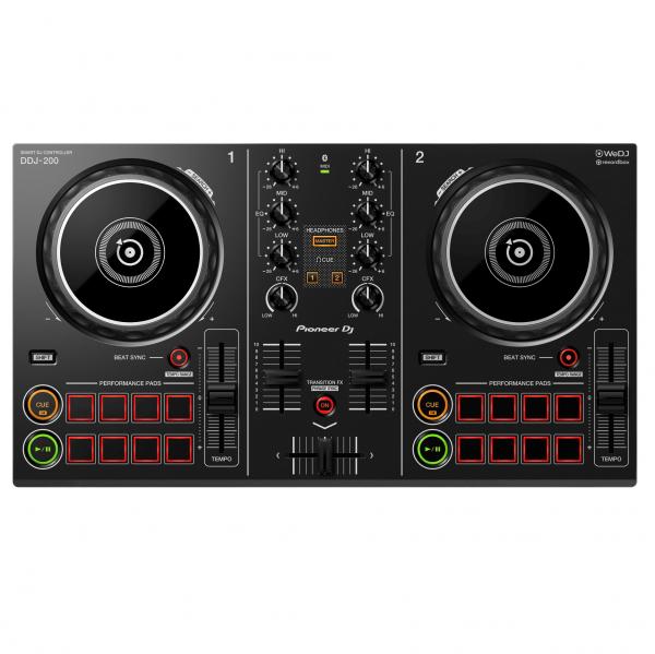AUDIOIBIZA CONTROLADOR DJ PIONEER DJ DDJ 200 TOP