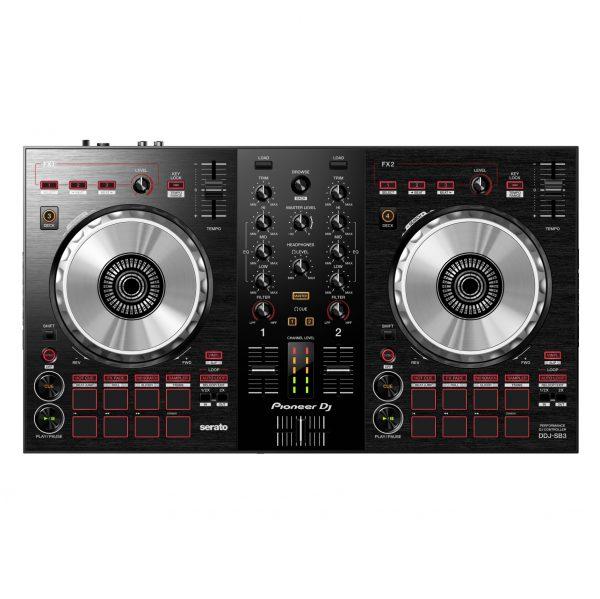 AUDIOIBIZA CONTROLADOR DJ PIONEER DJ DDJ SB3 top low 0124 1