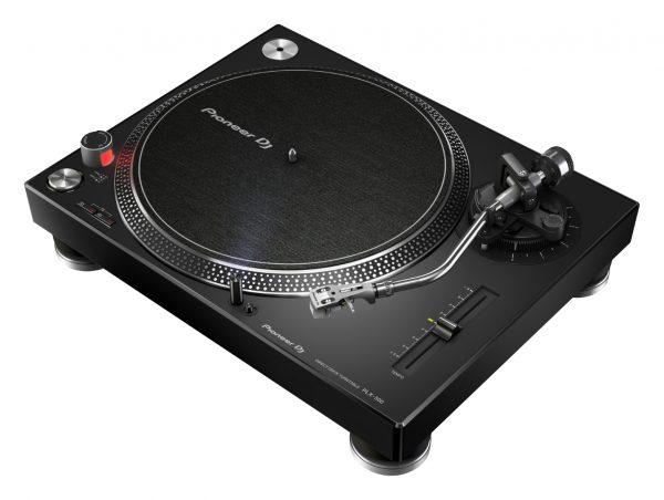 AUDIOIBIZA GIRADISCOS PIONEER DJ PLX 500 black prm angle low 0705