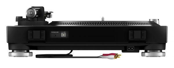 AUDIOIBIZA GIRADISCOS PIONEER DJ PLX 500 black rear low 0705