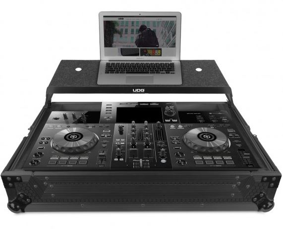 U91065BL - ULTIMATE FLIGHT CASE PIONEER XDJ-RR BLACK PLUS (LAPTOP SHELF)