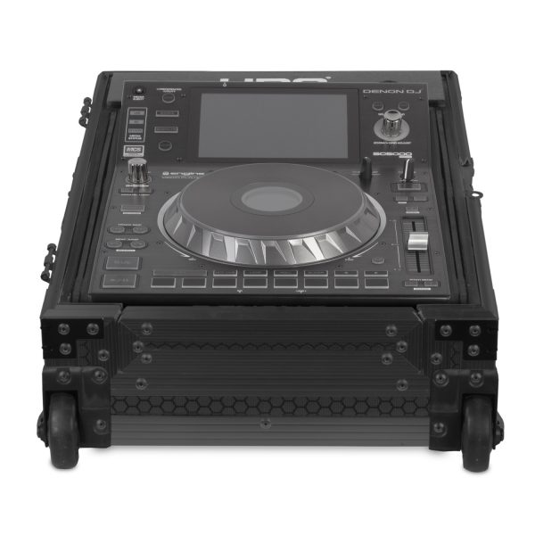 U91066BL - ULTÍMATE FLIGHT CASE MULTI FORMAT CDJ/MIXER II BLACK PLUS (T&W)
