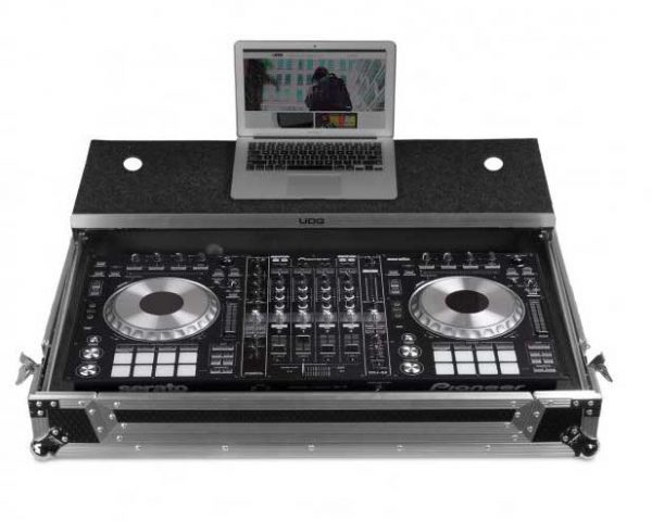 U92010SL - FC PIONEER DDJ-RZ/SZ2 SILVER PLUS (LAPTOP SHELF + WHEELS)