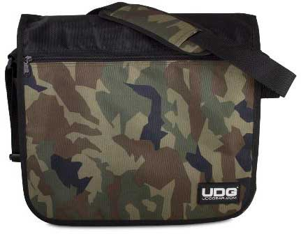 U9450BC/OR - ULTIMATE COURIERBAG BLACK CAMO