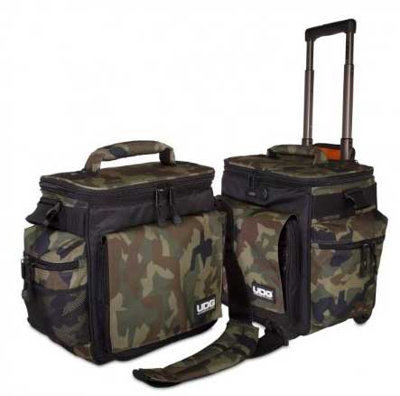 U9679BC/OR - ULTIMATE SLINGBAG TROLLEY SET DELUXE BLACK CAMO