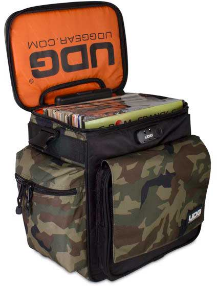 U9981BC/OR - ULTIMATE SLINGBAG TROLLEY DELUXE BLACK CAMO