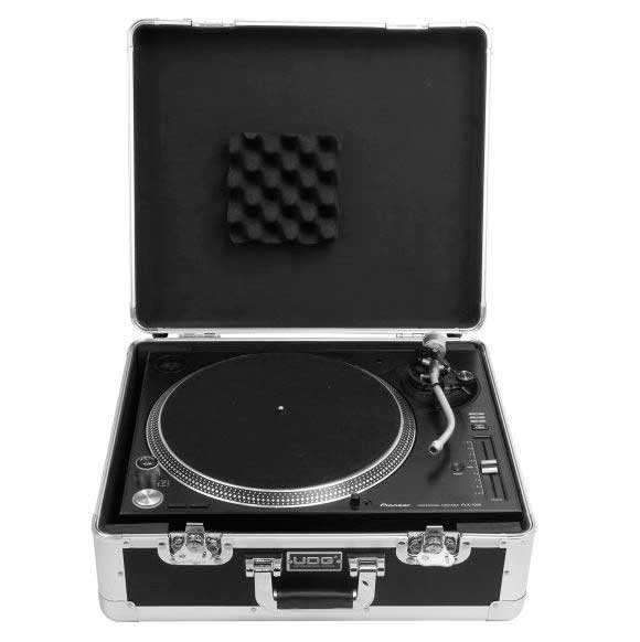 U93010SL - ULTIMATE PICK FOAM FLIGHT CASE MULTI FORMAT  TURNTABLE SILVER