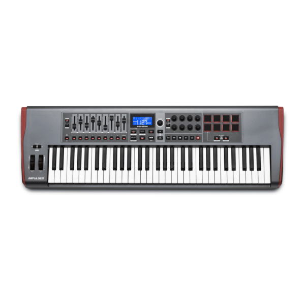 AUDIOIBIZA TECLADO MIDI NOVATION IMPULSE 61 1