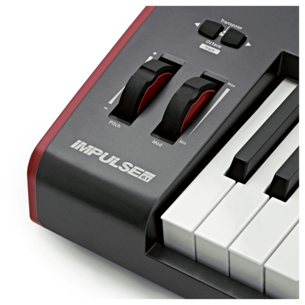 AUDIOIBIZA TECLADO MIDI NOVATION IMPULSE 61 6