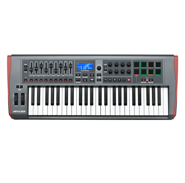 AUDIOIBIZA TECLADO MIDI NOVATION Impulse 49