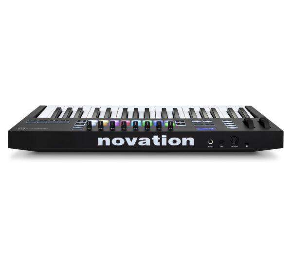 AUDIOIBIZA TECLADO MIDI NOVATION LaunchKey 37 Rear HR scaled