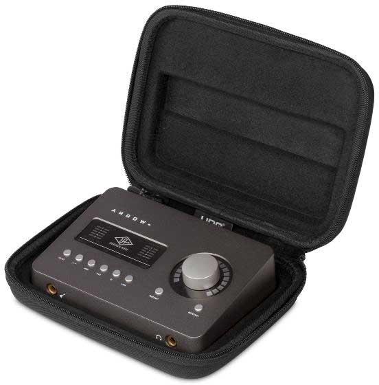 U8467BL - CREATOR UNIVERSAL AUDIO UAD ARROW HARD CASE BLACK